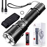 Klarus XT21X Taktisch Taschenlampe 4000 Lumen / 316 Meter CREE XHP70.2 P2 LED USB Wiederaufladbar Leistungsstark Taschenlampen mit 21700 Akku und USB Ladekabel