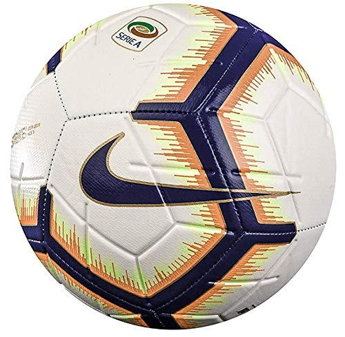 Nike Pallone Football 2018 2019 Strike Serie A, Calcio Unisex da Donna Uomo Adulto, Bianca, Taglia 5