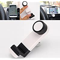 iMount Portable Car Air Vent Mount for Smartphones GPS iPhone - Black - works with iPhone, 3, 3GS, 4, 4S, 5, all HTC, HTC One S, V, X, XL, HTC Desire, C, HD, S, Z, HTC Sensation, XE, XL, HTC Wildfire, S, HTC 7 Pro, ChaCha, Incredible S, Radar, Trophy, Salsa, Rhyme, Legend, Mozart, Gratia, EVO 3D, Explorer, HD Mini, HD2, HD7, HD7S, all other HTC, Samsung Galaxy S, S2, S3, S4, S Advance, Ace, Ace 2, Note, Note 2