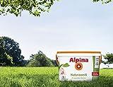 Alpina Natura Weiss 10 Liter Wandfarbe Weiß frei von Reizstoffen, Kinderzimmer