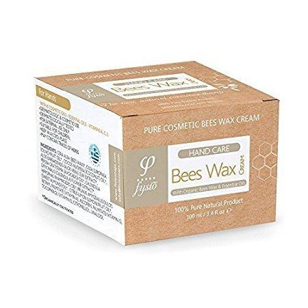 Fysio beeswax - Bienenwachs Handcreme 100 ml - 100% natürlichen Inhaltsstoffen - 24 Stunden Wirkungsvoller Schutz für Ihre Hände. - Ideal für die Erholung, Schutz & Pflege rissige, trockene und rissige Hände - Schaffung eines Naturschutzfilter, das eine beeindruckende dauerhaften Schutz bietet. Mit Bio-Bienenwachs, kaltgepresstes Bio-Olivenöl, Bio Kokosöl, Ringelblume, Aloe, Avocado, ätherische Öle von LEMON