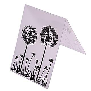 Amazingdeal365 Mit Vielfalt-teilig ! Silikonstempel Set - Blumen Kunst- Clear Stamps - Stempel transparent (11)