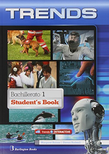 Trends 1 student's book bachillerato 1 - edition 2014