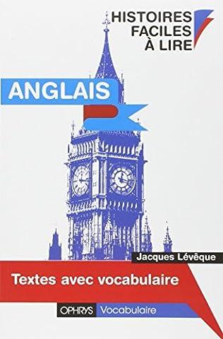 Ophrys Anglais - Anglais. Histoires faciles à lire - Textes