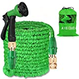 Best Expandable Hoses - AIBIDUO Hose Pipe Expandable Garden Hose 100Ft {IMPROVED}Magic Review