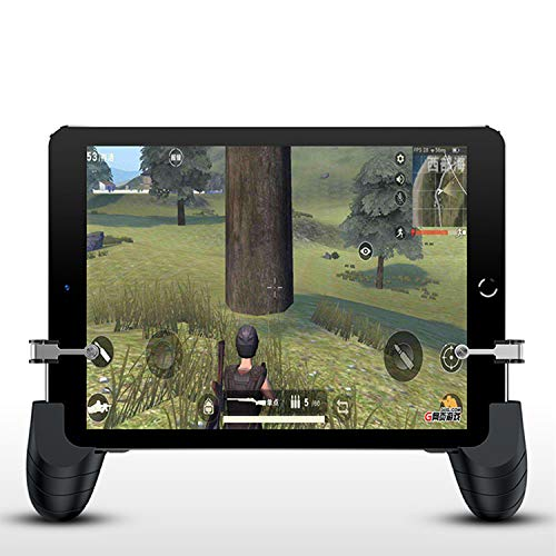 Newseego Controlador de la Tableta Gamepad - PUBG Game Controller Mando Joystick Movil Gamepad Gatillos para Movil PUBG Controlador de Juegos de Tablet Joysticks Game Trigger para iPad y Smartphone