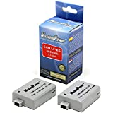 MaximalPower Batterie de rechange pour Canon LP-E5, Canon EOS 450D/500D/1000D appareil photo (Lot de 2)