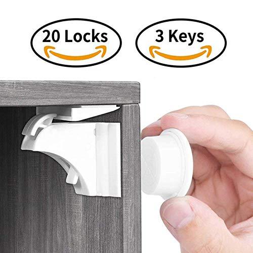 Child Lock,Cabinet Yosemy Child Safety Locks,Baby Safety Cupboard Strap Locks