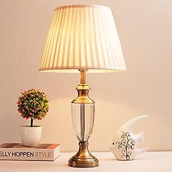 Lampe en cristal, de l'étude le séjour la chambre la lampe