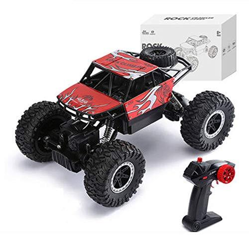 GYJ Drahtloses ferngesteuertes Auto, elektrisches Rock Crawler-Fahrzeug, ferngesteuertes Drift Racing-Radio, stoßfest und stoßfester