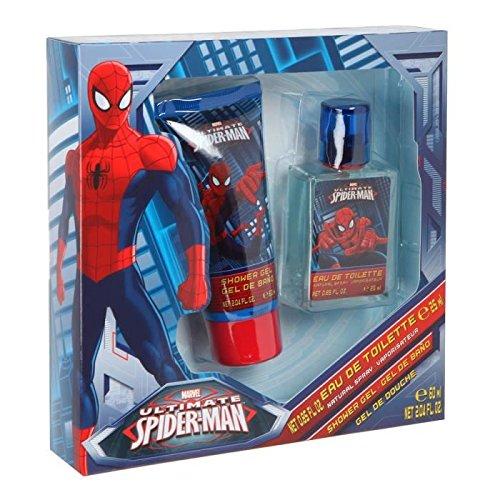 DISNEY-MARVEL Spiderman Coffret Cadeau Eau de Toilette 25 ml + Gel Douche 60 ml