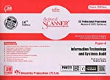Solved Scanner CS Professional Programme Module-II (2013 Syllabus) Paper-4 Information Technology and Systems Audit (Dec 2018 Exam)