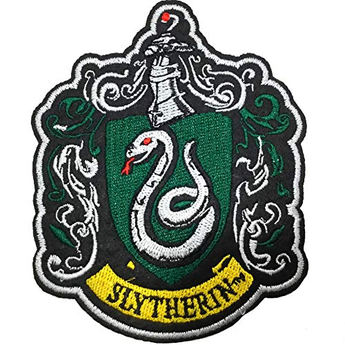 Noble Collection Parche Deluxe Slytherin - Harry Potter