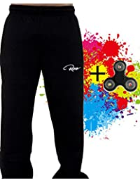 Redrum Jogginghose Sweatpants mit passendem Fidget Spinner geliefert blau rot weiss schwarz oder gruen zur Wahl