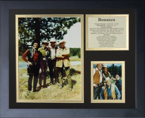 legends-never-die-bonanza-framed-photo-collage-11-by-14-inch-by-legends-never-die