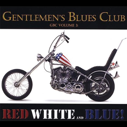 Harley Davidson Red White and Blue
