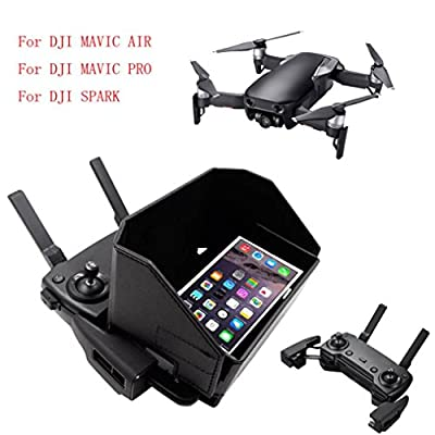 For DJI Mavic AIR Pro Spark Drone,Diadia 4.7-5.5 Inch Remote Control Sunshade Sun Hood Mobile Phone Sunshade Cover For DJI Mavic Series Spark Series