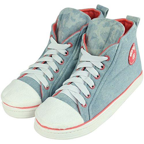 De Azul Ténis Brim De Sapatos Luz Gohom De Masculinos aT7zfq4