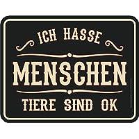 Grösse 22x17 cm Galaxis Blech-Schild Spruch Bester Papa Blechschild