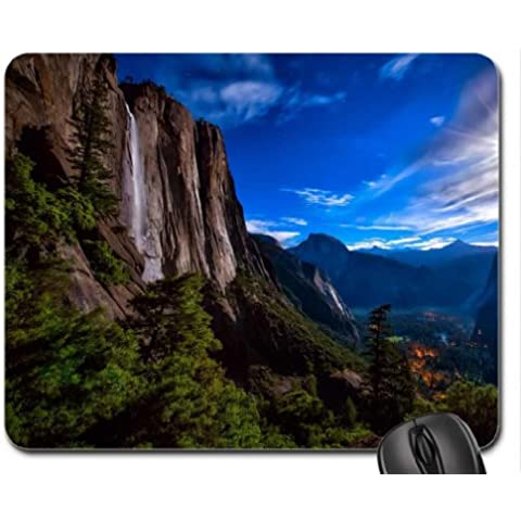 Yosemite-Parque Nacional-catarata cojín de ratón, Mousepad (fuerzas de la naturaleza del cojín de