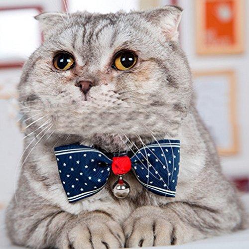 Bow Haustier Hunde Katze Krawatte (Dot) - 3