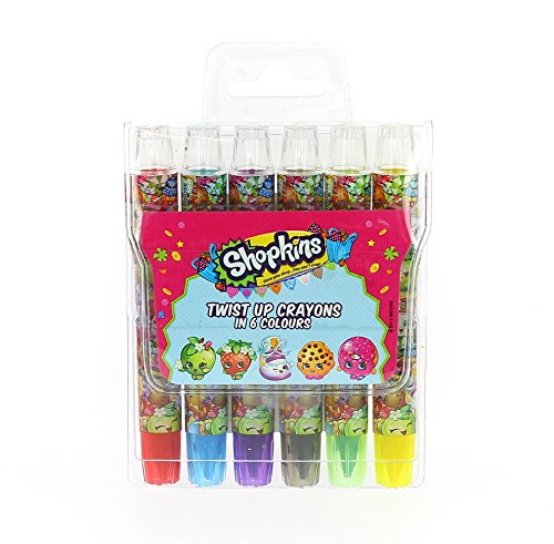 SHOPKINS Chunky crayons Twist Up