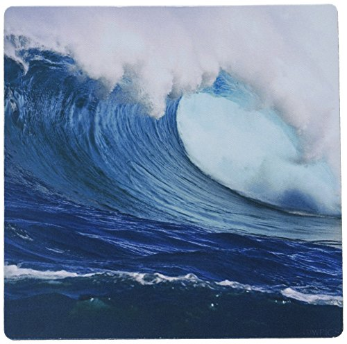 3dRose LLC mp_46389_1 Mauspad, 20,3 x 20,3 x 0,25 Zoll (60-Foot Surf Crashes on Mauis North Shore at Peahi Muster)