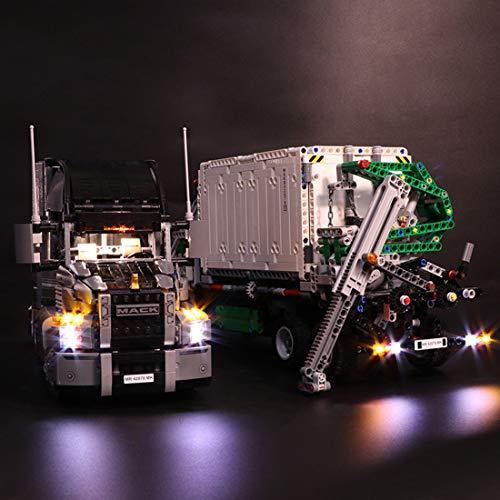 YVSoo LED Licht-Set für Baustein Spielzeug LED Beleuchtung Kit für Lego Technic 42078 Mack Anthem, Konstruktionsspielzeug - Modell Nicht Enthalten
