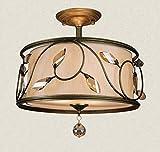 Amerikanische Einfache Eisenkunst Deckenleuchte Wohnzimmer Schlafzimmer Esszimmer Arbeitszimmer Dekoration Deckenleuchte YDYG