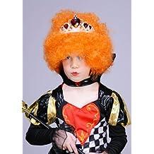 Childs reina de corazones peluca y diadema