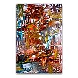 Premium Textil-Leinwand 60 x 90 cm Hoch-Format Auf und über dem Wasser | Wandbild, HD-Bild auf Keilrahmen, Fertigbild auf hochwertigem Vlies, Leinwanddruck von N N