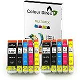 10 XL Haute Capacité ColourDirect Cartouche D'encres Pour Epson Expression imprimeur XP-510 XP-520 XP-600 XP-605 XP-610 XP-615 XP-620 XP-625 XP-700 XP-710 XP-720 XP-800 XP-820 imprimeur