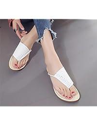 Semplici sandali i sandali della clip punta aperta , silver , US7.5 / EU38 / UK5.5 / CN38