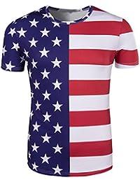 Amazon.fr   drapeau américain - Homme   Vêtements 7875115218f