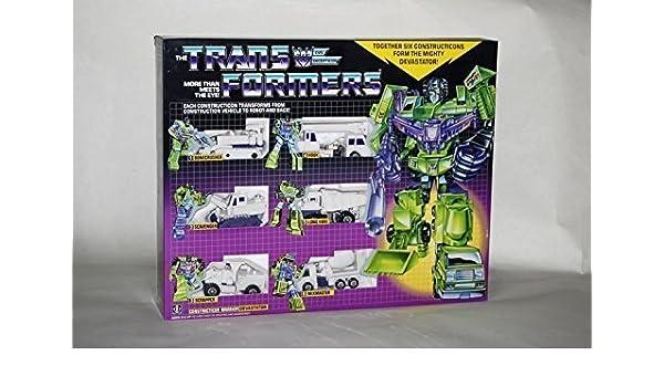 Transformers G1 White Devastator reissue brand new Gift