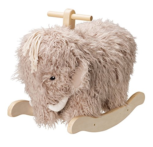Kids Concept Neo Mammoth Modern Wooden Toy Rocking Horse 38�cm Seat High, Natural