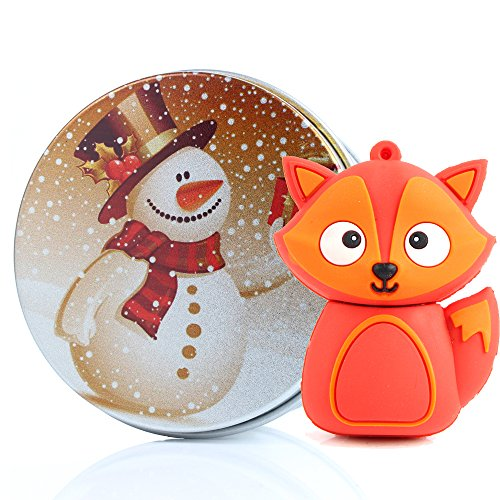 Die Kathedrale Von Port (USB-Stick Nette Abbildung des Fuchs-Pendrive Speicher USB Flash Drive 2.0 Memory Stick, Geschenk Ideen Original, Figurine 3d, Datenspeicher USB Gadget 8 GB/16 GB/32G/64GB 8G Snow Man)