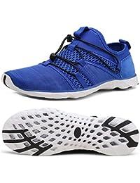 7ee0de56ea1 Zapatos de Agua Unisex Hombre Mujer Zapatos de Playa de Deporte Secado  rápido Anti-Deslizante