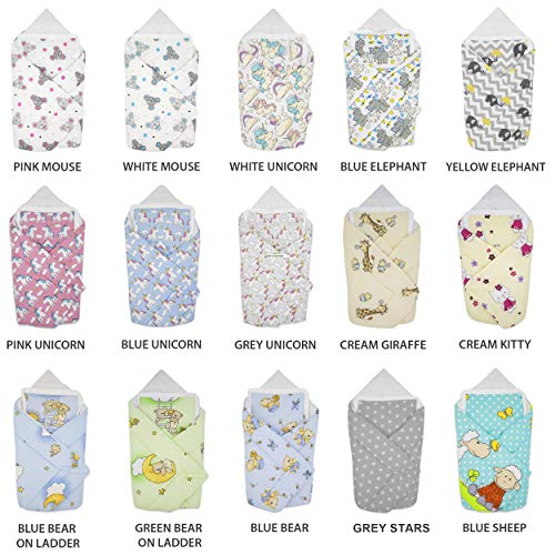 67f01e1b1 Manta para envolver al bebé de Blueberryshop Classic manta con almohada para  bebé.