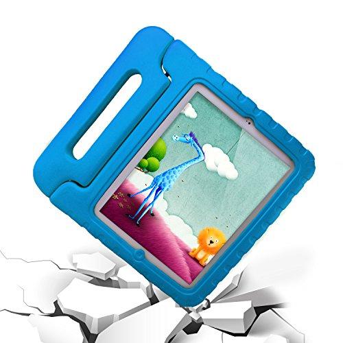 SAVFY® Apple iPad 2/ 3 /4 Custodia Protettiva antiurto con Supporto / Sonno / Sveglia per bambini, Handle Custodia Cover Shock Proof Ultra Sottile Leggero Blu
