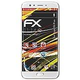 atFolix Schutzfolie kompatibel mit Oppo F3 Plus Bildschirmschutzfolie, HD-Entspiegelung FX Folie (3X)