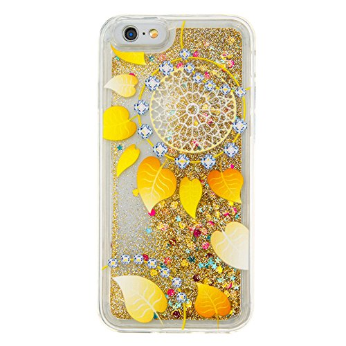 Nutbro iPhone 6S Plus Case,iPhone 6 Plus Creative Bling Glitter Sparkle Liquid Quicksand Flowing Floating Case Rubber TPU Cover Soft Bumper For iPhone 6/6S Plus YB-6-Plus-285