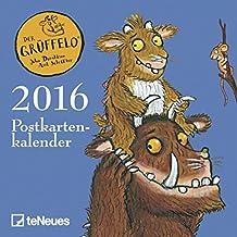 teNeues Postkartenkalender Der Grüffelo Julia Donaldson, Axel Scheffler Postkartenkalender/Kinderkalender/Spiralbindung 16 x 17 cm