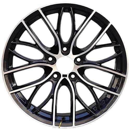 Yx-outdoor 20-Speichen-Leichtmetallfelgen, silbernes schwarzes Muster, 19 * 8.5J, P.C.D 5 * 120, Versatz 35, Mittelloch 72.56, passend für BMW 5er, 7er Serie.4PCS - Bmw 5-speichen-felgen