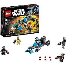 LEGO Star Wars - Pack de Batalla: Speeder Bike de Bounty Hunter (75167)
