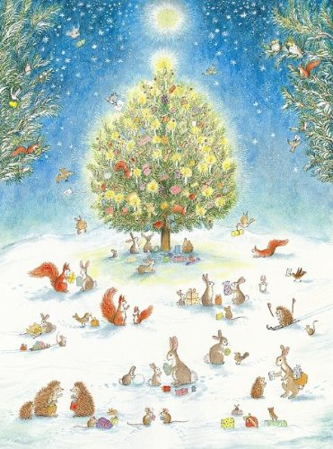 A Woodland Christmas Advent Calendar