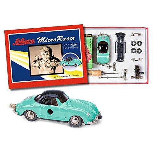 Preisvergleich Produktbild Schuco 450177400 - Micro Racer Porsche 356 BS, Montagekasten
