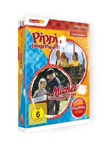 Astrid Lindgren: Pippi Langstrumpf / Michel aus Lönneberga - Spielfilm-Komplettbox [7 DVDs]: Alle Infos bei Amazon