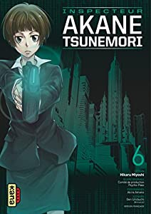 Psycho-pass Inspecteur Akane Tsunemori Edition simple Tome 6