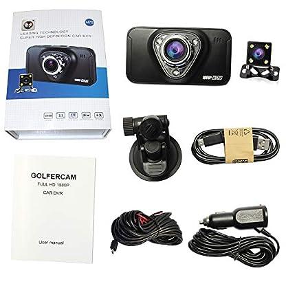 hqbking-Car-DVR-Vehicle-Dash-Kamera-Full-HD-1080P-Auto-Armaturenbrett-Video-Recorder-mit-170-Grad-Weitwinkel-4-x-Zoom-G-Sensor-Bewegungserkennung-Nachtsicht-Loop-Recording-Parken-Monitor